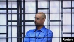 Սեյֆ ալ-Իսլամ Քադաֆին Զինթանի դատարանում, արխիվ