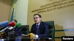 Председатель Национального банка Казахстана Данияр Акишев. Алматы, 22 декабря 2015 года.