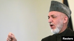 Afghan President Hamid Karzai (file photo)