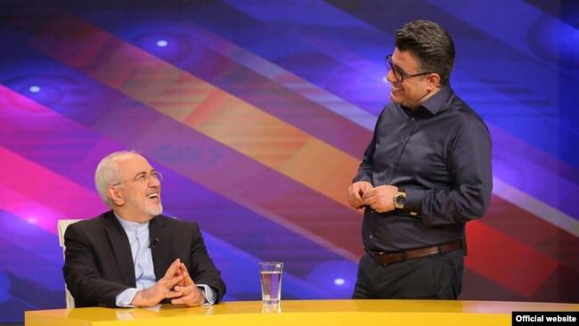محمدجواد ظریف در برنامه تلویزیونی «حالا خورشید» با اجرای رضا رشیدپور