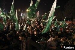 Мітинг прихильників Тагір-уль-Кадрі в Ісламабаді, 14 січня 2013 року