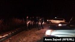 Policia e Kosovës në pikën kufitare Jarinë, 14 janar 2017