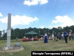 Відкриття інформаційної стели у Любарі Житомирської області, 19 червня 2019 року