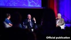 Франция - Президент Армении Армен Саркисян принимает участие в «Саммите идей», Шамони, 22 сентября 2018 г․