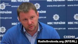 Директор Департамену комунікацій МВС України Артем Шевченко