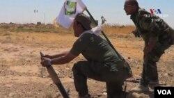 """""""Ислам мамлекети"""" радикал уюмунун согушкерлери. Ирак."""