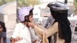 Pakistan - A NGO called Lyari's Girls Cafe in Karachi teaches girls to ride bicycles. VOA screen grab bikes biking cycling