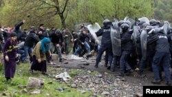 Վրաստան - Պանկիսի կիրճի բնակիչների և ոստիկանների բախումները, 21-ը ապրիլի, 2019թ․