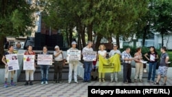 Rostov-on-Don: picket in support of Cherevatenko