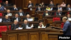 Armenia -- The Speaker of the Armenian Parliament Hovik Abrahamian, undated