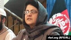سپوژمی وردک معین مسلکی وزارت امور زنان افغانستان