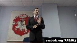 Один из лидеров белорусской оппозиции Анатолий Лебедько