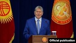 Presidenti kirgiz Almazbek Atambaev