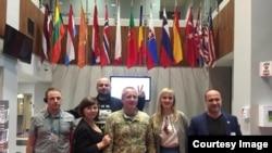 Група з України під час відвідин США
