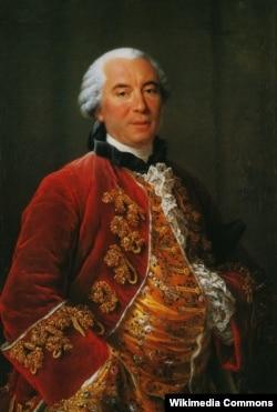 Жорж-Луи Леклерк граф де Бюффон (1707–1788). Художник Франсуа-Юбер Друэ. 1753