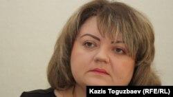 Мария Расулова, сотрудник Казахстанского бюро по правам человека. Алматы, 13 февраля 2014 года.