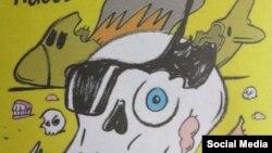 Charlie Hebdo cartoon kogalymavia crash