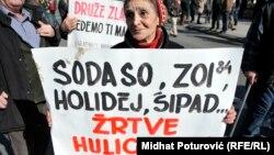 Sarajevo, protesti, 25. februar 2014.