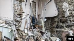 Amatriče je uništen u zemljotresu koji je pogodio Italiju 24. avgusta