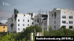 Наслідки обстрілів на Донбасі