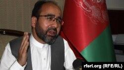 د افغانستان د حج او اوقافو وزیر فیض محمد عثماني