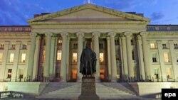 ساختمان وزارت خزانهداری آمریکا در واشینگتن