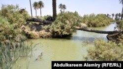 البصرة -شط العرب - الجزيرة الثالث (الارشيف)
