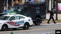 Полициски возила во САД. Илустрација.