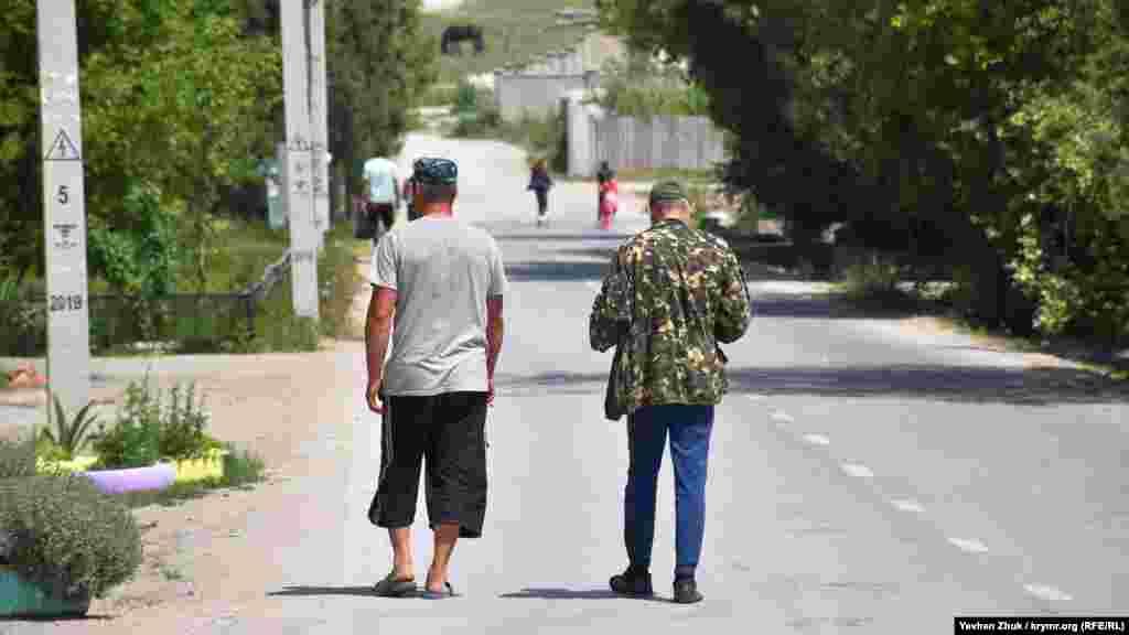 На улице Ясной в селе Первомайское
