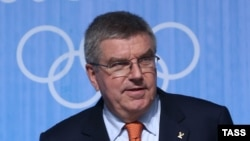 Прэзыдэнт Міжнароднага алімпійскага камітэту Томас Бах