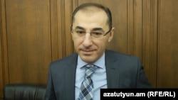 Министр финансов Армении Вардан Арамян, 4 ноября 2016 г.