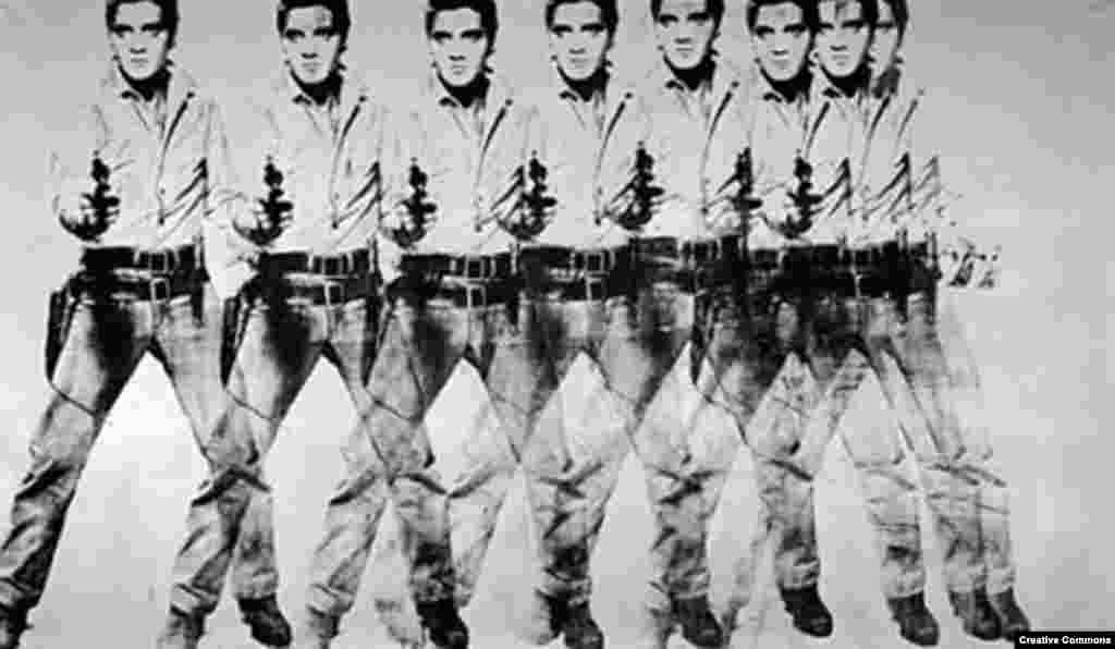 "Andy Warhol's ""Eight Elvises"" (1963) was reportedly sold to a private buyer for $100 million in 2009."
