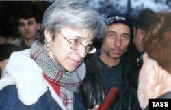 Assassinated Russian journalist Anna Politkovskaya in 2001.