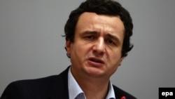 Lideri i Vetëvendosjes, Albin Kurti.