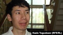 Айбек Баратов, гражданский активист из Кыргызстана, тренер и предприниматель. Алматы, 14 июня 2012 года.