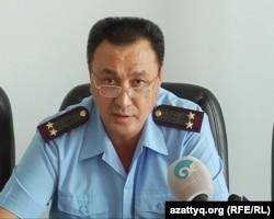 Заместитель начальника департамента КУИС по Актюбинской области Мирболат Кепесов. Актобе, 12 июля 2012 года.