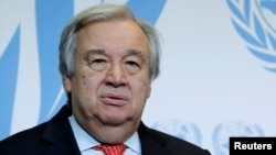 Sekretari i Përgjithshëm i OKB-së Antonio Guterres.