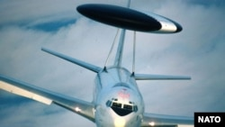 Самолёт системы AWACS, состоящий на вооружении НАТО