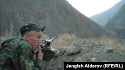 Кыргызский пограничник. Иллюстративное фото.