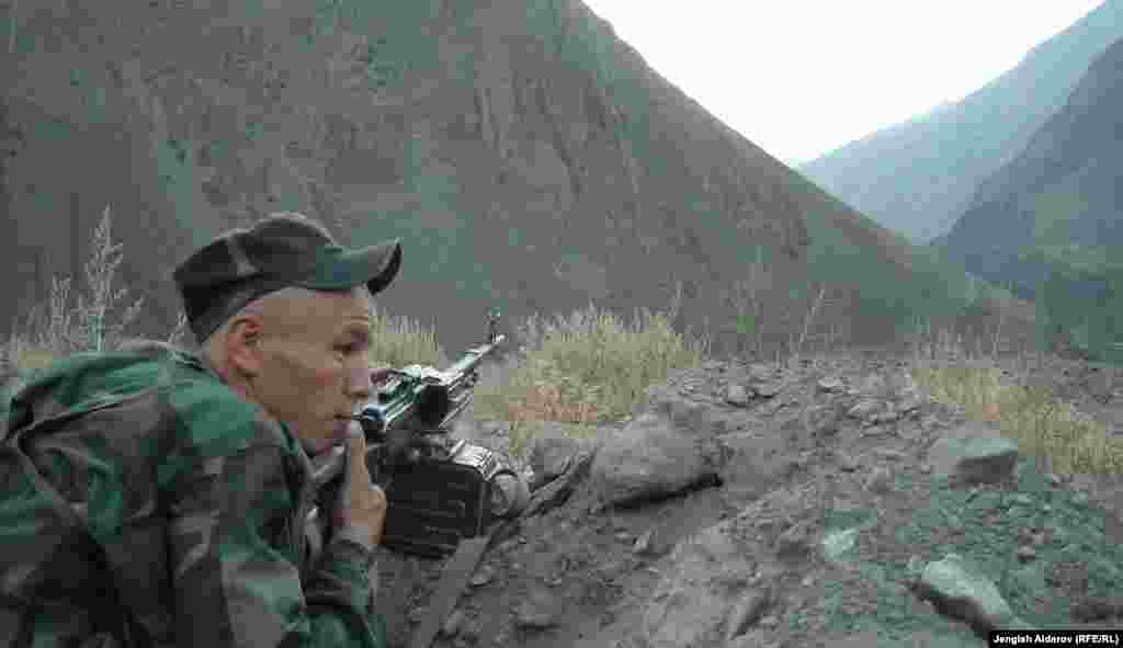 Из-за обострения ситуации в Хороге усилена охрана государственной границы с Таджикистаном