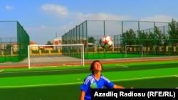Futbolçu Aytac Əsədova