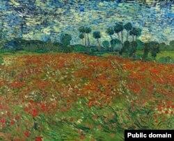 Вінсэнт ван Гог, «Макавае поле» (1890). Фота: www.VanGogh.net