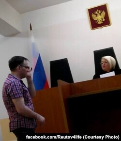 Евгений Куракин в Реутовском суде Московской области. Август 2015