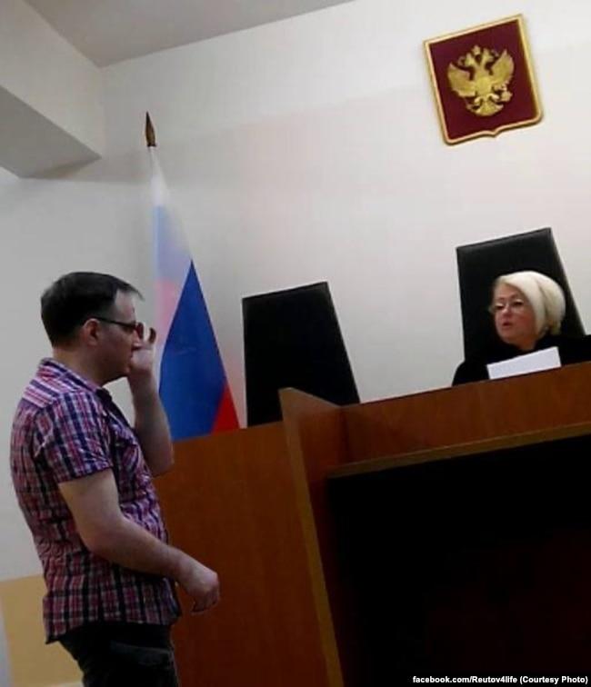 Евгений Куракин в суде Реутова, 2015 год
