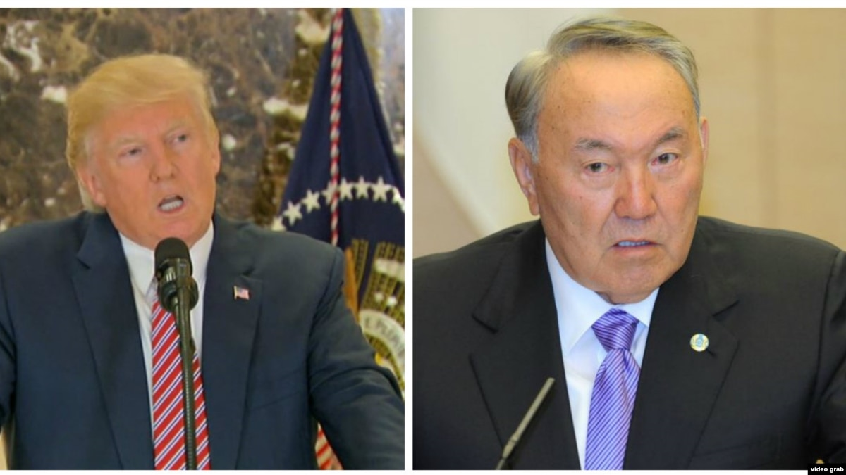Назарбаев и Трамп больше говорили о безопасности