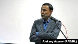 «Қатал адам» фильмінің режиссері Баймұрат Жұманов. Алматы, 16 наурыз 2017 жыл.