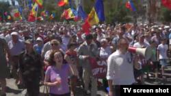 Кишинёвдогу демонстрация