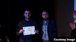 Elvin Adigüzəl İstanbul film festivalında.