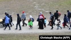 Izbeglice na austrijsko - nemačkoj granici 2015. godine, ilustrativna fotografija