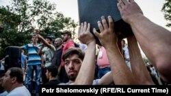 Еревандагы нааразылыктын катышуучулары, 28-июнь, 2015